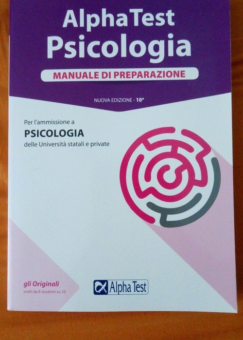 Alpha Test Psicologia nuovi