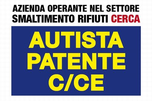 CERCASI Autista C/CE
